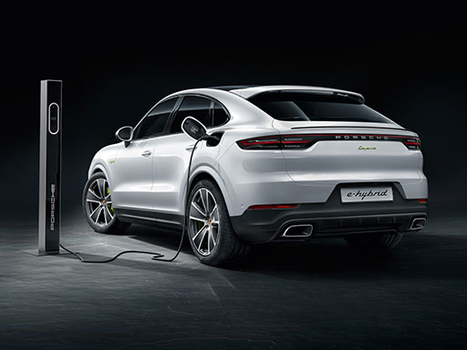 Exklusives Leasingangebot für private Kunden: Porsche Cayenne E-Hybrid Coupé